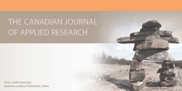View Vol. 1 No. 1 (2010): The Canadian Journal of Applied Research